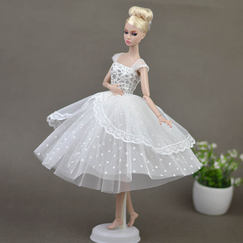"""1//6 Doll Dress For 11.5/"""" Doll Evening Dresses Jumper Skirt Clothes Doll Outfits"""