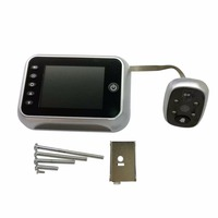 3 5 LCD T115 Color Screen Doorbell Viewer Digital Door Peephole Viewer Camera Door Eye Video