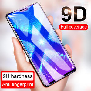 9D Screen Protective Glass On For Huawei Honor 8x 7a Pro Tempered Glass Film For