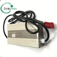 12V20A 25a 30A deligreen Зарядное устройство для 4S LiFePO4 литий ионный и свинцово кислотная Батарея пакеты 18650 DIY пакет
