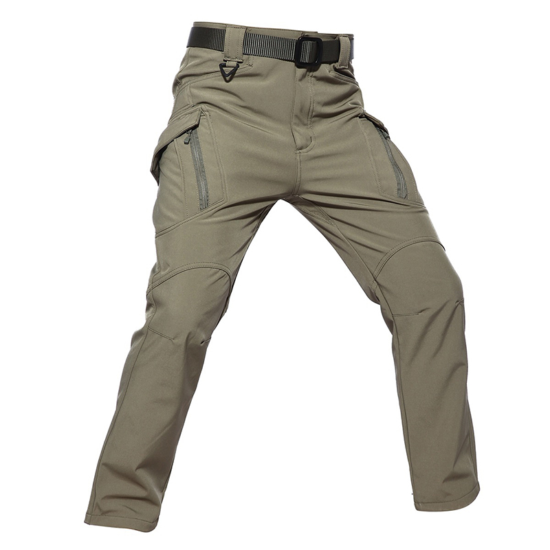 Pants Trousers Hunting Tactical Outdoor Windproof Military-Pant Sport Men Softshell Cargo