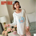Autumn New Style Pure Cotton Breathable Maternity Home Wear Long Sleeve Breast-Feeding Top+Pants Costume Sets For Pregnant Women