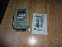 TGATL VFD Inverter 220V in And 110V 3P Out 0.75kw AS2 107 drive 110V delta/190V star Connection motor speed controller