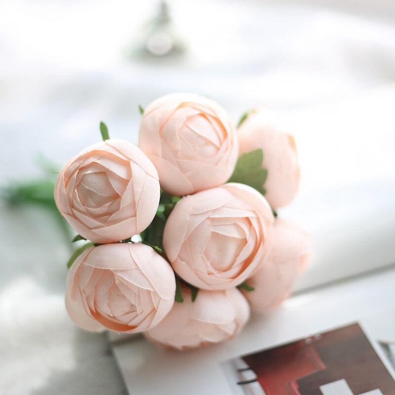 Aliexpresscom Buy Artificial Silk 1 Bunch Lotus Bridal Bouquet