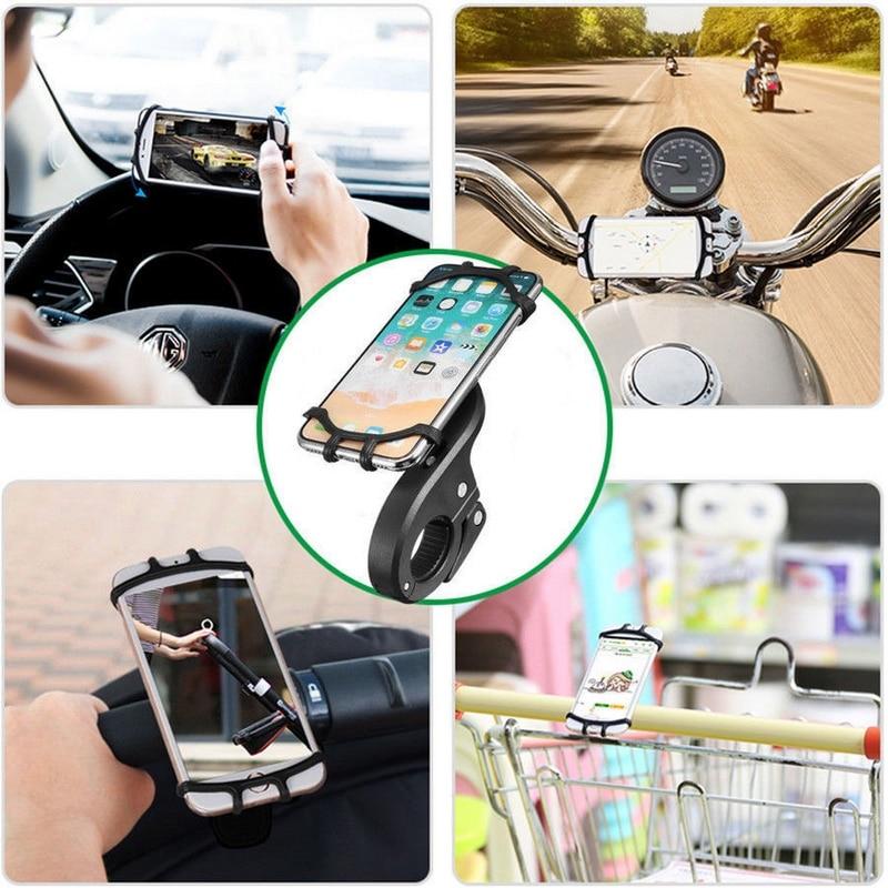 Universal Stroller blackbike phone holder Motorcycle Bicycle Bike MTB Handlebar Phone Holder Baby Car Stroller Mount Stand (4)
