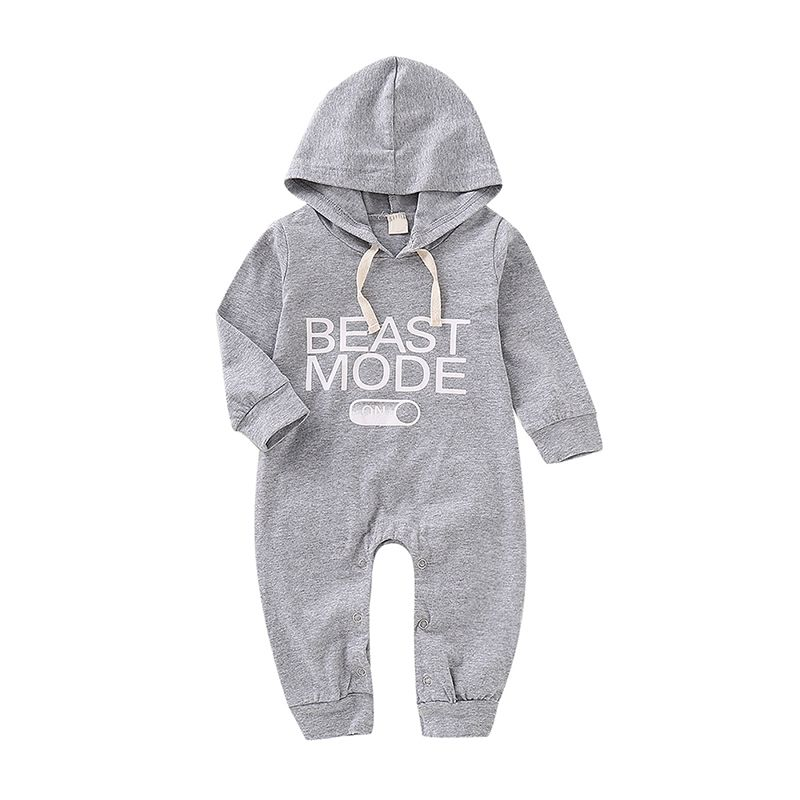 Spring Autumn Hooded Baby...