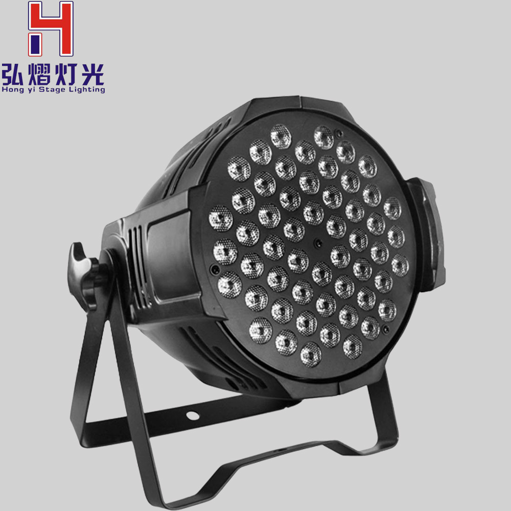 DJ lighting/54x3W flat LED Par/RGBW Disco Lamp/stage light/ luces discoteca laser Beam/ luz de projector lumiere /dmx controller 6units 24x12w rgbw 4in1 aluminum led par can disco lamp stage lights luces discoteca laser beam luz de projector led par light