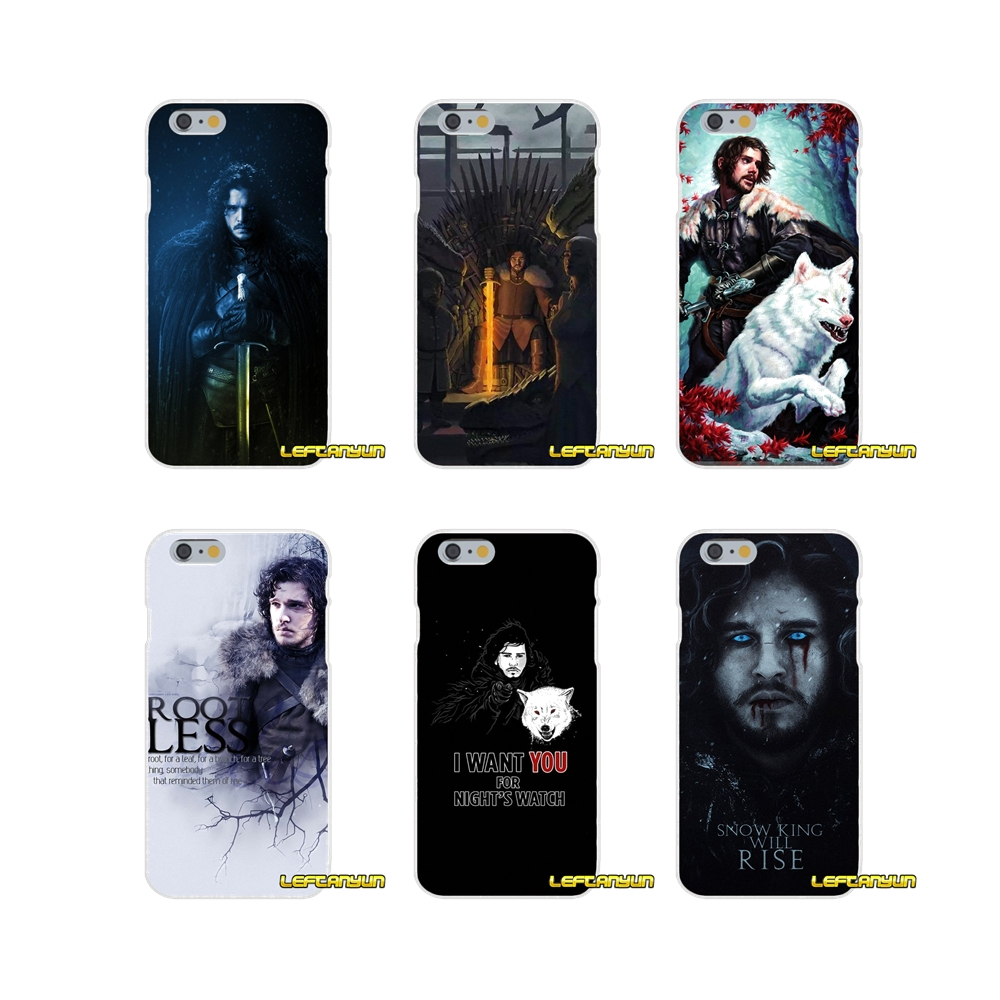 Jon Snow Game of Thrones Soft Silicone phone Case For Samsung Galaxy A3 A5 A7 J1 J2 J3 J5 J7 2015 2016 2017 image