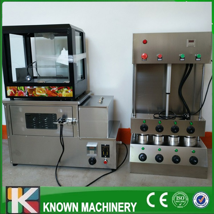 304 stainless steel Pizza Cone&Oven Maker/Making Machine And Pizza Display Cabinets commercial used easy operation kono pizza cone making machine 2400w umbrella cone pizza 110v 220v stainless steel material