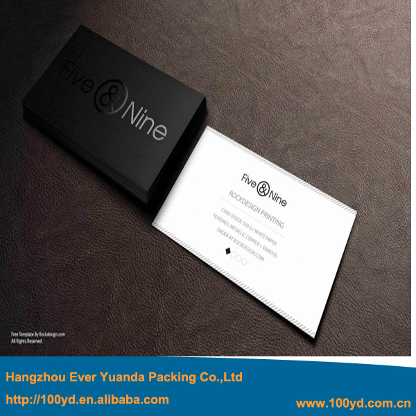Personalized Custom Print Business Card Spot Uvembossed Visit Card