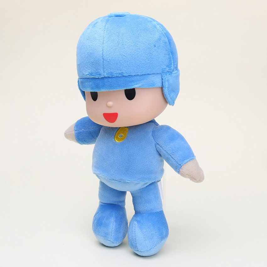 10pcs lot Hot sale POCOYO Cartoon Stuffed Plush Toys 25cm POCOYO Cute Dolls Classic toys for