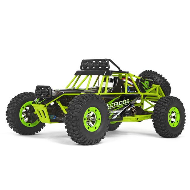 WLtoys 12428 1/12 4WD Crawler RC Car With LED Light RTR 2.4GHz Remote control Racing off-country Car with Brush Motor 50KM/H
