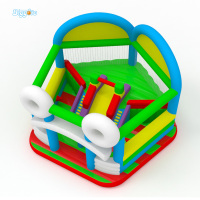 Newest Design Inflatable Combo Sports Games Inflatable Obstacle Playground For Party Rental