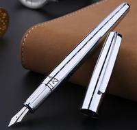 Pimio 918 Luxury Metal carving 0.5mm Nib Financial Fountain Pen High end Gift Pens Stationery with an Original Gift Case