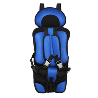 Draagbare Auto Kids Autostoeltje Stoel Baby Kussen Seat Auto styling Stoel voor Kinderen Peuter Comfortabele Seat Cover Harness