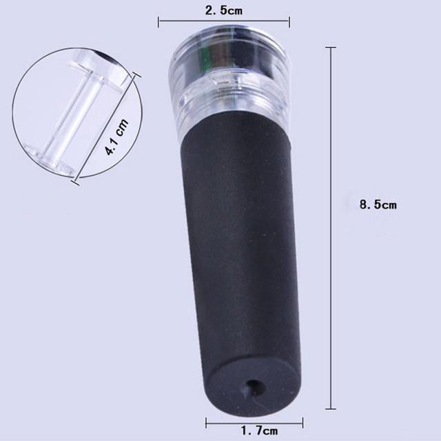 New Red Wine Vacuum Retain Freshness Bottle Stopper Preserver Sealer Plug Free Shipping