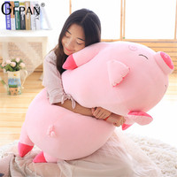 100cm Bigger Size Toys Cartoon Pink Pig Plush Toys Pig Pillow Soft Cushion Chinese Zodiac Pig Doll Birthday Gift For Kid Baby