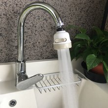 Adjusting Tap Kitchen Faucet Shower 360 Rotate Water Saving Shower Head Kitchen Fixtures Faucet filtered for Faucet Accessories