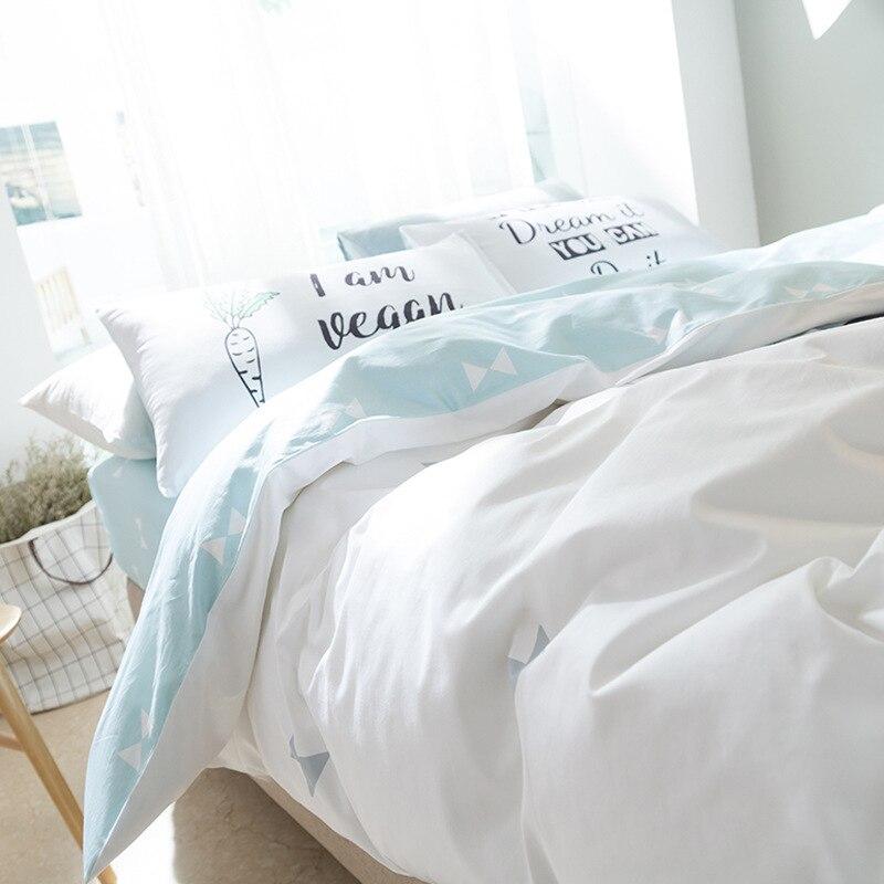 Ev ve Bahçe'ten Yatak Takımları'de Sevimli Beyaz Gri Tilki veya Ayı Baskılı nevresim takımı Çocuk Nevresim % 100% Pamuk Çarşaflar Yorgan Kapağı Flatsheet Yastık Kılıfı'da  Grup 2