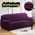 Almofadas do sofá capa em Tecido stretch elástico Elástico Único universal Dois Três Assento apertado canto Do Sofá poltrona Cobre