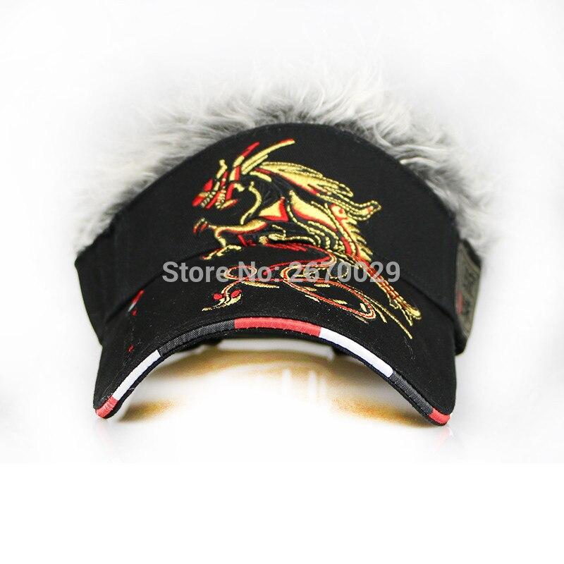 Gorra de golf para hombre Dragón Falso Sombrero para el cabello, - Ropa deportiva y accesorios - foto 4