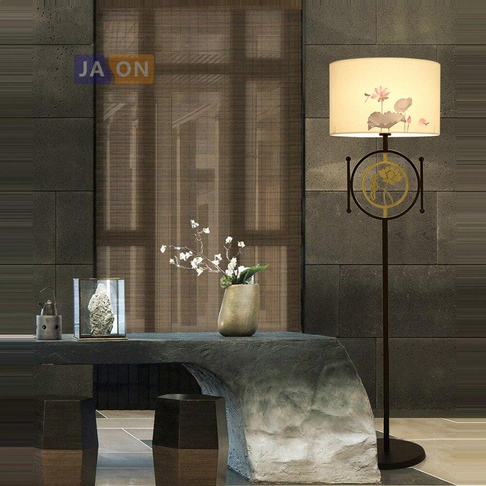 led e27 Chinese Iron Fabric Golden Lotus LED Lamp LED Light LED Floor Lamp Floor Light For Dinning Room Bedroomled e27 Chinese Iron Fabric Golden Lotus LED Lamp LED Light LED Floor Lamp Floor Light For Dinning Room Bedroom