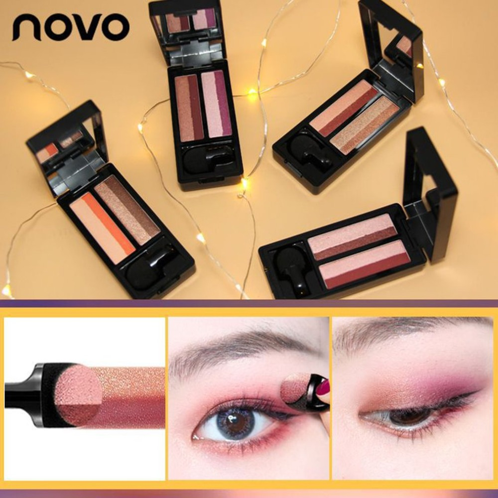 Back To Search Resultsbeauty & Health Small Magic Box Lazy Two-color Gradient Eye Shadow Seal Eye Shadow Powder Plate Gradient Beautiful Makeup Eye Shadow Tray Modern Techniques