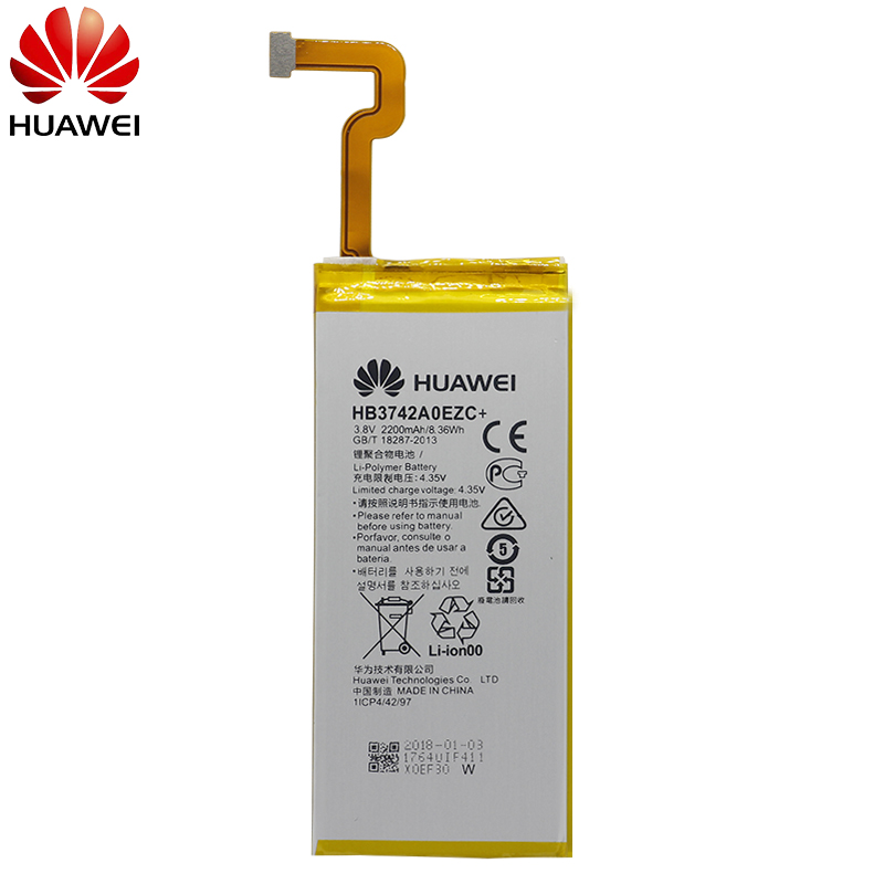 Image 2 - Hua Wei Original Phone Battery HB3742A0EZC+ Real 2200mAh for Huawei Ascend P8 Lite Replacement Batteries Free Tools-in Mobile Phone Batteries from Cellphones & Telecommunications