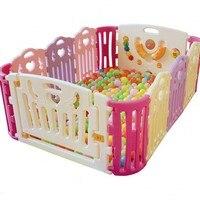 Новый Дизайн Дети Baby Safe Ползания активности защиты забор детский, закрытый игры забор окружающей Манеж