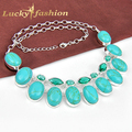 Fashion necklaces for women luckyshine New Arrive best salling jewelry suppliers silver necklace In stock