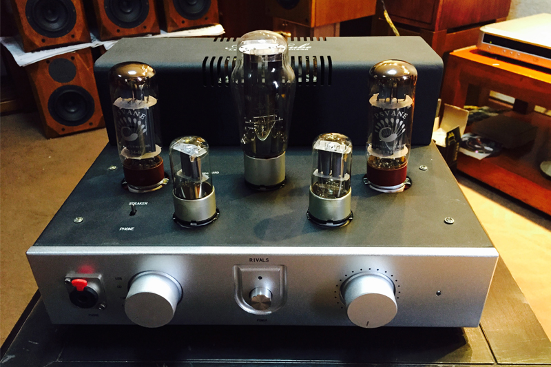 Rivals TOP EL34 tube amps HIFI EXQUIS handmade Scaffolding with headphone output amplifier Luxury Version appj pa1502a tube headphone amplifier hifi exquis 6n4 12ax7 6p6p 6v6 lamp headset amps