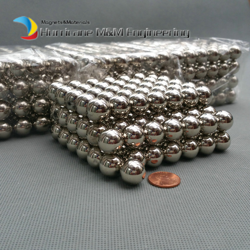 1pack Larger NdFeB Magnet Balls 6-15mm Diameter Nickle color Strong Neodymium Sphere ball Magnets Rare Earth Magnets new style 432pcs mini 3mm diameter magnetic ball sphere neodymium puzzle ndfeb novelty toy for kids children