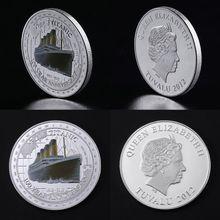 100-летие Титаника Памятная коллекция монет подарок сувенир художественный металлический Antiqu