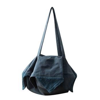 Women's Bag 2019 Cotton Linen Irregular Shoulder Bag Multifunctional Female Casual Handbag Large Capacity Canvas Tote Wholesale