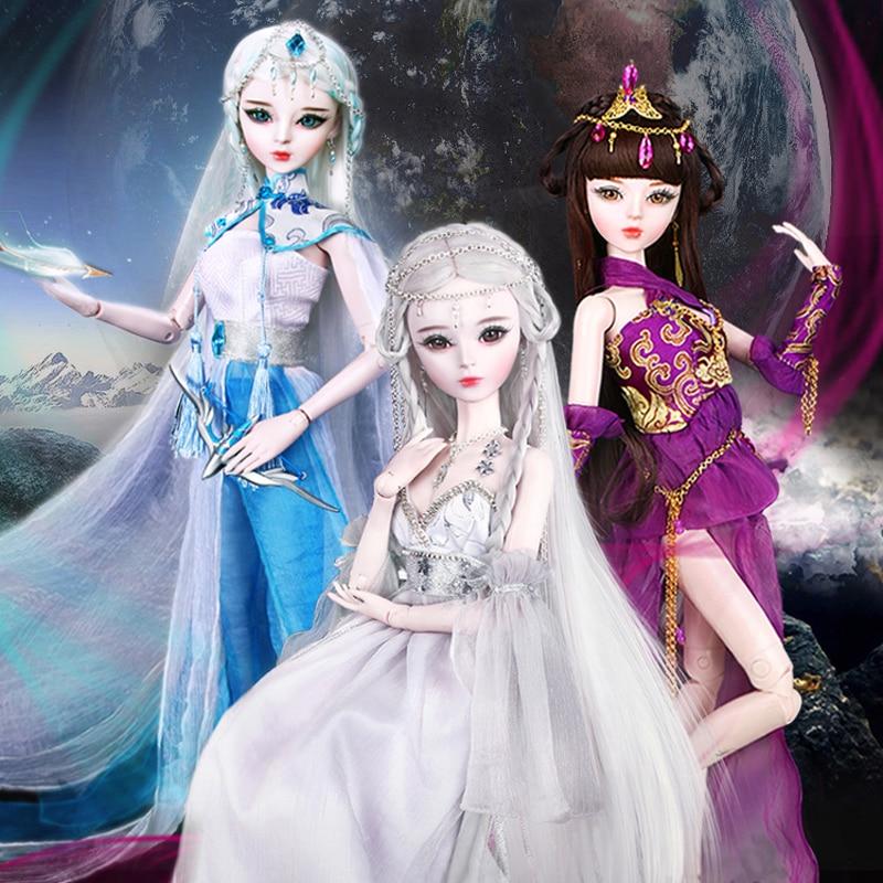 60cm muñecas Bjd 1/3 hechas a mano 12 Zodiac Tauro/Virgo/Escorpio 23 muñecas SD articuladas niñas juguetes para regalo de cumpleaños para niños-in Muñecas from Juguetes y pasatiempos    1