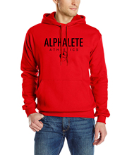 Alphalete Print Fleece Hoodies Men's harajuku Sweatshirt hot 2017 Spring Autumn streetwear Hiphop fashion men male Clothes S-XXL