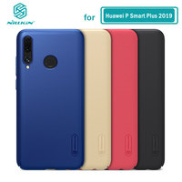Case for Huawei P Smart+ Plus 2019 Nillkin Frosted Shield PC Hard Back Casing Cover sFor Huawei P Smart Plus 2019 Case|Fitted Cases|   -