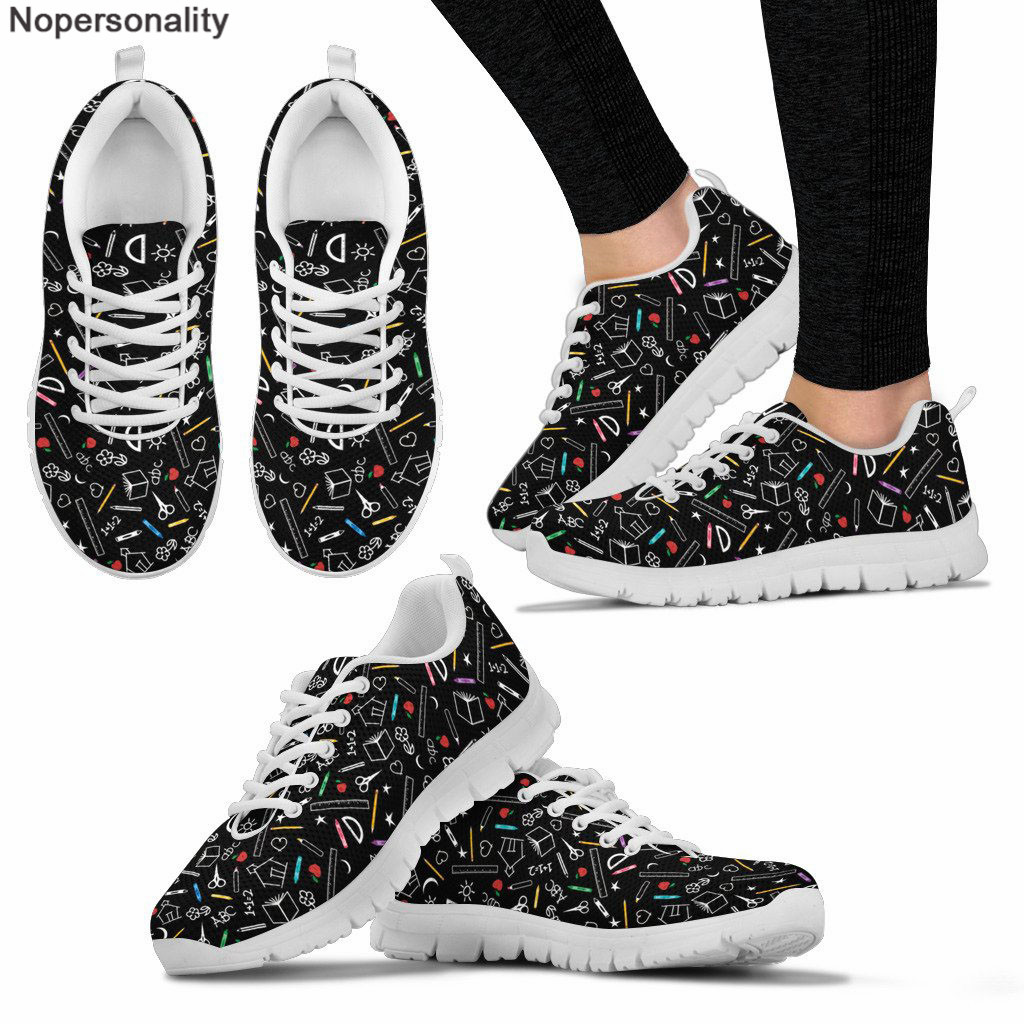 Nopersonality Shoes Women Sneakers Teacher-Pattern Breathable Casual Ladies New Summer