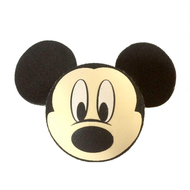 Черная голова Микки бежевое лицо Минни маленькая милая очаровательная мультяшная кукла антенны шары ЕВА воздушные топперы украшение крыши