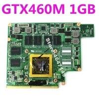 G73JW GTX460M N11E GS A1 1GB VGA graphics card board For ASUS G53JW G53SW G53SX G73SW Laptop Video Card 100% Test