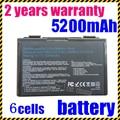 JIGU k50in 6 Cell Аккумулятор для Asus K40/F82/A32/F52/K50/K60 A32-F82 L0690L6 k40in k40af k50ij