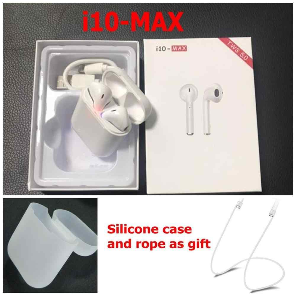 3d2c5e2605d I10 Max TWS Mini auriculares inalámbricos auriculares Bluetooth auriculares  dobles con caja de carga enviar funda