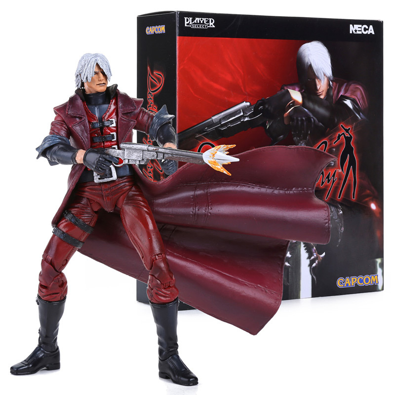 NECA Devil May Cry Dante PVC Action Figure Collectible Model Toy 7 18cm