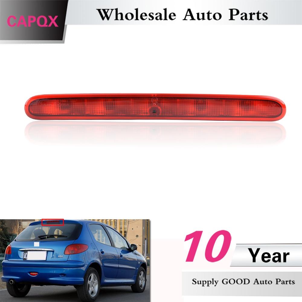 capqx for peugeot 206 207 citroen c2 rear additional brake light high mount stop light third [ 1000 x 1000 Pixel ]