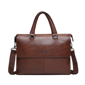 """Image 5 - JEEPBULUO Mens Briefcase Fashion Handbags For Man Sacoche Homme Marque Male leather Bag For A4 Documents 13"""" Laptop 6015"""