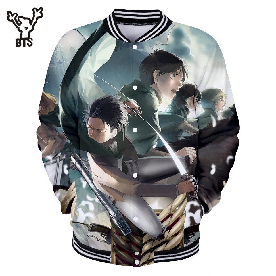 0bbdc0150761 Großhandel attack on titan baseball jacket Gallery - Billig kaufen attack  on titan baseball jacket Partien bei Aliexpress.com