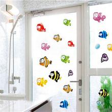 Underwater Fish Starfish Bubble Wall Sticker