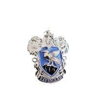 Фильм hp Хогвартс Школа Гриффиндор Слизерин Ravenclaw Hufflepuff брошь с символом значок булавка для мужчин женщин модные ювелирные изделия ключ подарок