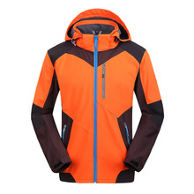 2017 Brand New Mens Windstopper Waterproof Softshell Spring High Quality Jacket
