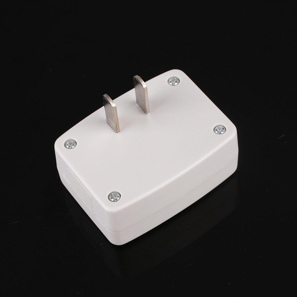 LCD Digital Voltmeter Wattmeter Plug In US Plug White Household ...